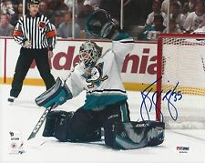 Jean Sebastien Giguere Anaheim Mighty Ducks signed 8x10 PSA/DNA #S45600