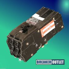 Refurb Square D Q13100 Circuit Breaker 3 Pole 100A 240V 10kA Q1 Series