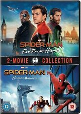 Spider-Man Far From Home & SpiderMan Homecoming (New Sealed 2 Movie DVD Box Set)