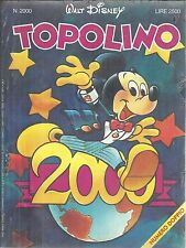 TOPOLINO n° 2000 MAI aperto, con il blister ORIGINALE con INSERTO
