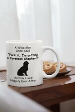 Pyrenean Shepherd Mug - Pyrenean Shepherd Gift - Novelty Gift For Dog Dad