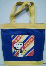 Peanuts Snoopy Canvas Boogie Bag