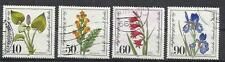 5332-SERIE COMPLETA ALEMANIA BERLIN FLORES FLORA PLANTAS 1981 Nº 611/4 ,6,50€ YV