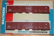 WALTHERS 932-23534 PULLMAN STANDARD 86' HI-CUBE BOXCAR 8 DOOR 2-PACK MP/UP