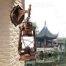 New listing Wall Light Retro Antique Vintage Rustic Lantern Lamp Fixture Outdoor E27 Us Ship