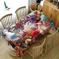 Superior Butter 3D Tablecloth Table cover Cloth Rectangle Wedding Party Banquet