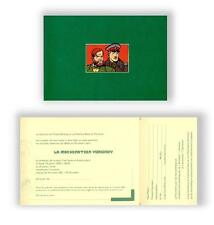 JUILLARD Blake Mortimer invitation Machination Voronov