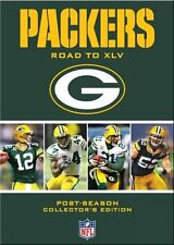 GREEN BAY PACKERS ROAD TO SUPER BOWL XLV New 4 DVD Set 4 Games