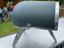 More details for gozney roccbox pizza oven dual fuel - gas & wood burner,grey,excellent condition