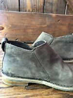 🙃UGG Clementine Womens Grey Leather Crepe Sole Ankle Boots Women's Sz 10
