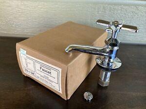 Vintage B&K Single Basin Bathroom Sink Faucet NOS Unused Hot or Cold