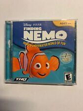 Disney Pixar Finding Nemo Underwater World Fun PC/Mac CD-ROM 03 disk only