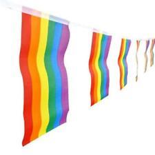 Polyester Rainbow Flags Pride Banner Ktv Banner Gay 20 Pcs/set Gay Lesbian SL
