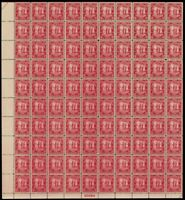 683, XF Mint Sheet of 100 2¢ Carolina/Char Stamps Brookman $230.00 Stuart Katz