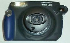 Fujifilm Instax 200 Instant Film Camera grey in case with leaflets