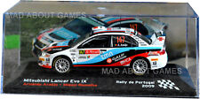 MITSUBISHI LANCER 1:43 model car miniature Armindo Araujo Rally de Portugal