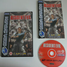 Resident Evil Sega Saturn Game Complete PAL UK - VGC