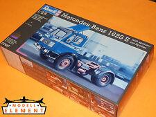 Revell® 07467 Mercedes Benz 1628 S mit Spoiler / Maßstab 1:25 / Länge 22,9 cm