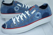 New Dsquared2 Men's Sneakers Size 44 Tennis Shoes Denim Casual