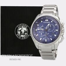 Authentic Citizen Eco-Drive Men's Bluetooth Proximity Pryzm Watch BZ1021-54L
