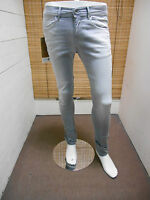 TAKE TWO JEANS UOMO SKINNY FIT NEW DEXTER OLEF GREY DENIM CINQUE TASCHE ESTIVO
