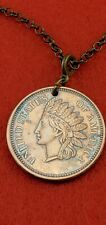Liberty Copper Medallion Chain Necklace Coin Stylish Fashion HOT Cool Jewelry