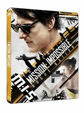 Mission Impossible Rogue Nation (Limited Edition Steelbook - 4K Ultra HD and B