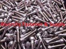 (5) M8-1.25x40mm OR M8X40 mm Socket / Allen Head Cap Screw Stainless Steel