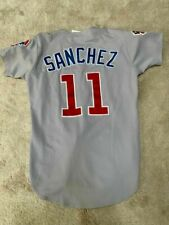 Chicago Cubs Rey Sanchez Game Used Jersey 1997
