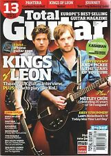 Total Guitar Magazine September 2009 Kings of Leon Motley Crue Pantera Journey