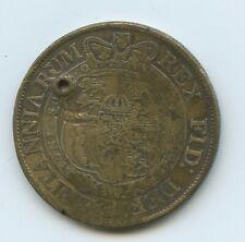 1819 1/2 Half Crown F Georgius III