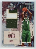 2016-17 Thon Maker 03/10 Patch Panini Court Kings Art Nouveau Rookie #9
