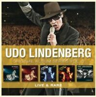 UDO LINDENBERG - ORIGINAL ALBUM SERIES VOL.3 (LIVE & RARE) 5 CD NEU