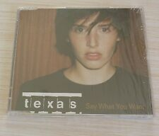 RARE CD MAXI SINGLE 4 TITRES SAY WHAT YOU WANT COLD DAY DREAM TEAR IT UP TEXAS