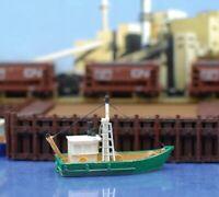RTR PAINTED - Fishing Trawler N Scale 1:160 Custom Designed Model Railroad Boat