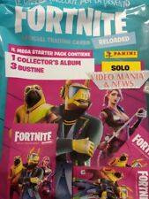 ALBUM STARTER PACK FORTNITE RELOADED CARD (ALBUM+3 BUSTINE) .PANINI