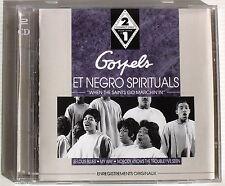 """GOSPELS ET NEGRO SPIRITUALS . WHEN THE SAINTS GO MARCHIN'IN"""" . 2 CD"""