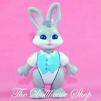 Fisher Price Loving Family Hideaway Hollow Dollhouse Grey Father Bunny Rabbit