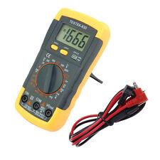 Digital Multimeter LCD AC / DC Meter Amp Volt Ohm Resistance Capacitance Tester