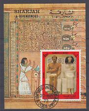 Sharjah Block 152 gestempelt Altägyptische Grabfunde