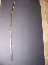 1965 DODGE MONACO 2D LH FRONT DOOR GLASS EDGE TRIM OEM POLARA 880
