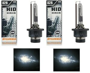 OpenBox Sylvania HID Xenon D2R Two Bulbs Head Light Replacement Low Beam Lamp