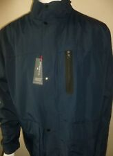 M&S MENS WATER RESISTANT BLUE HARBOUR COAT JACKET NAVY SIZE XXL 2XL NEW