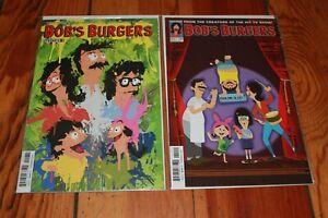 Bob's Burgers Vol 2 (Ongoing) Dynamite Comics 2015 Issue #1C & 2 Set NEW NM