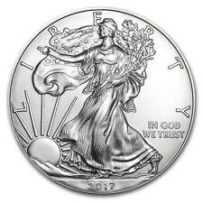 1oz American Eagle 2017 MONETA D'ARGENTO 999.0, belle lingotti d'argento. nuova condizione