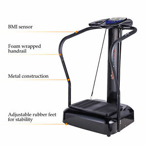 Whole Body Vibration Machine Full Body Exercise Platform Massager 2000W