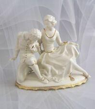 """Hutschenreuther Figur Tänzerin Ballett """"Galantes Paar"""" Werner Figurine Figure"""