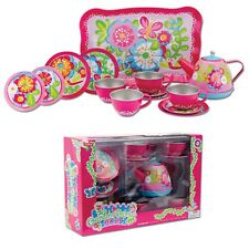 SCHYLLING TIN GARDEN PARTY  TOY TEA SET (NEW)