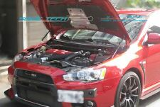 Mitsubishi Evolution X EVO 10 CZ4A Carbon Fiber Strut Gas Lift Hood Shock Damper