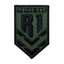 Disney Star Wars Rogue One R1 Patch Rank Officially Licensed Iron-On Applique